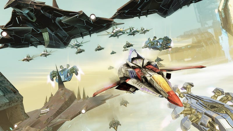 Illustration for article titled Starscream, Grimlock and More of this Fall's Fall of Cybertron Transformers