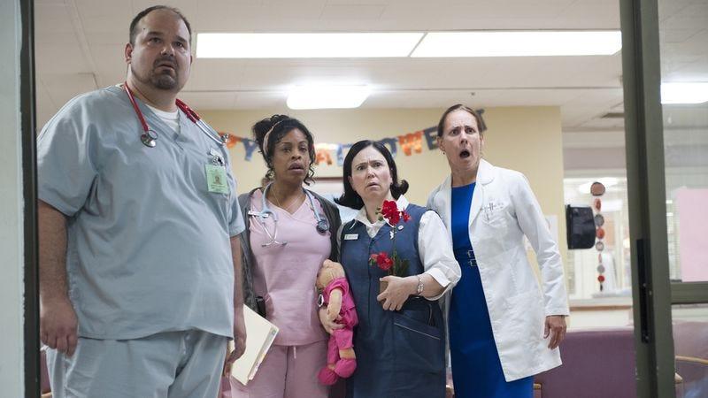 Mel Rodriguez, Niecy Nash, Alex Borstein, Laurie Metcalf (HBO)