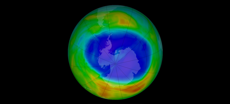 Illustration for article titled Don't Panic: The Ozone Hole's Holding Steady