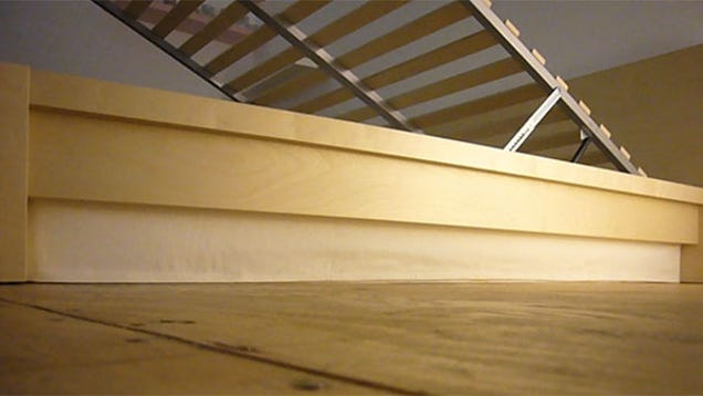 Create An Ikea Bed With A Hidden Storage Compartment