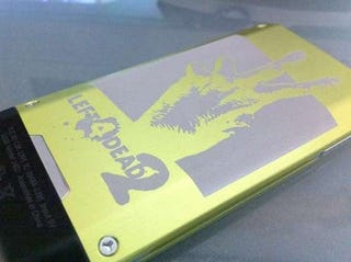 Illustration for article titled Look Who Won This Laser-Etched Left 4 Dead 2 Zune