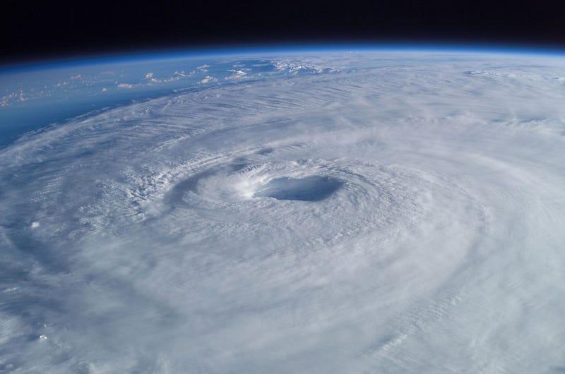 Huracán Isabel. Wikimedia Commons