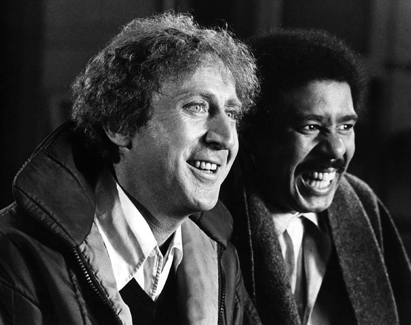 Gene Wilder and Richard Pryor (Hulton Archive/Getty Images)