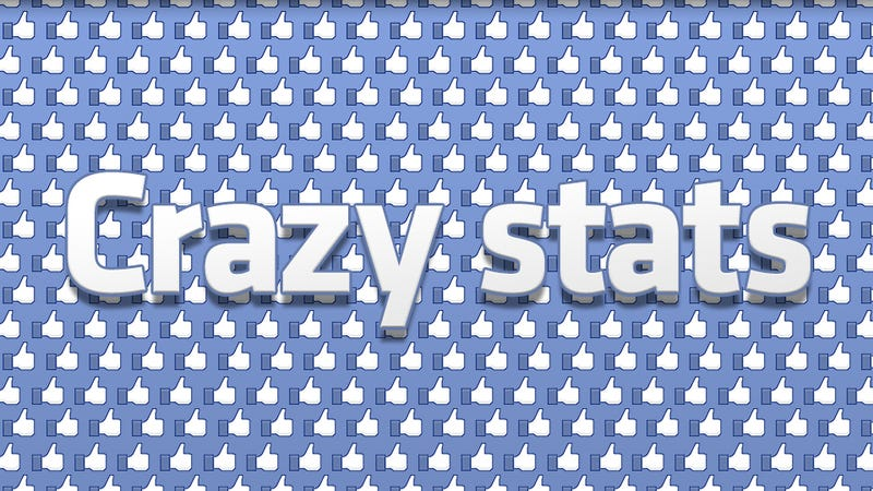 Illustration for article titled Facebook's Crazy Facts and Figures