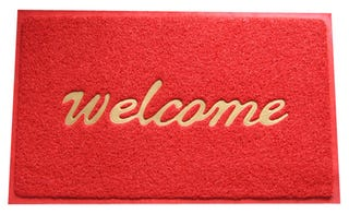 Illustration for article titled The Sarcastic, Pointed 'You're Welcome': A Doormat's Nightmare
