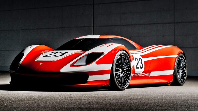 Illustration for article titled I Dare Porsche to Actually Build this Stunning 917 Concept