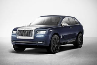 Illustration for article titled Here's a cool Rolls-Royce Cullinan concept