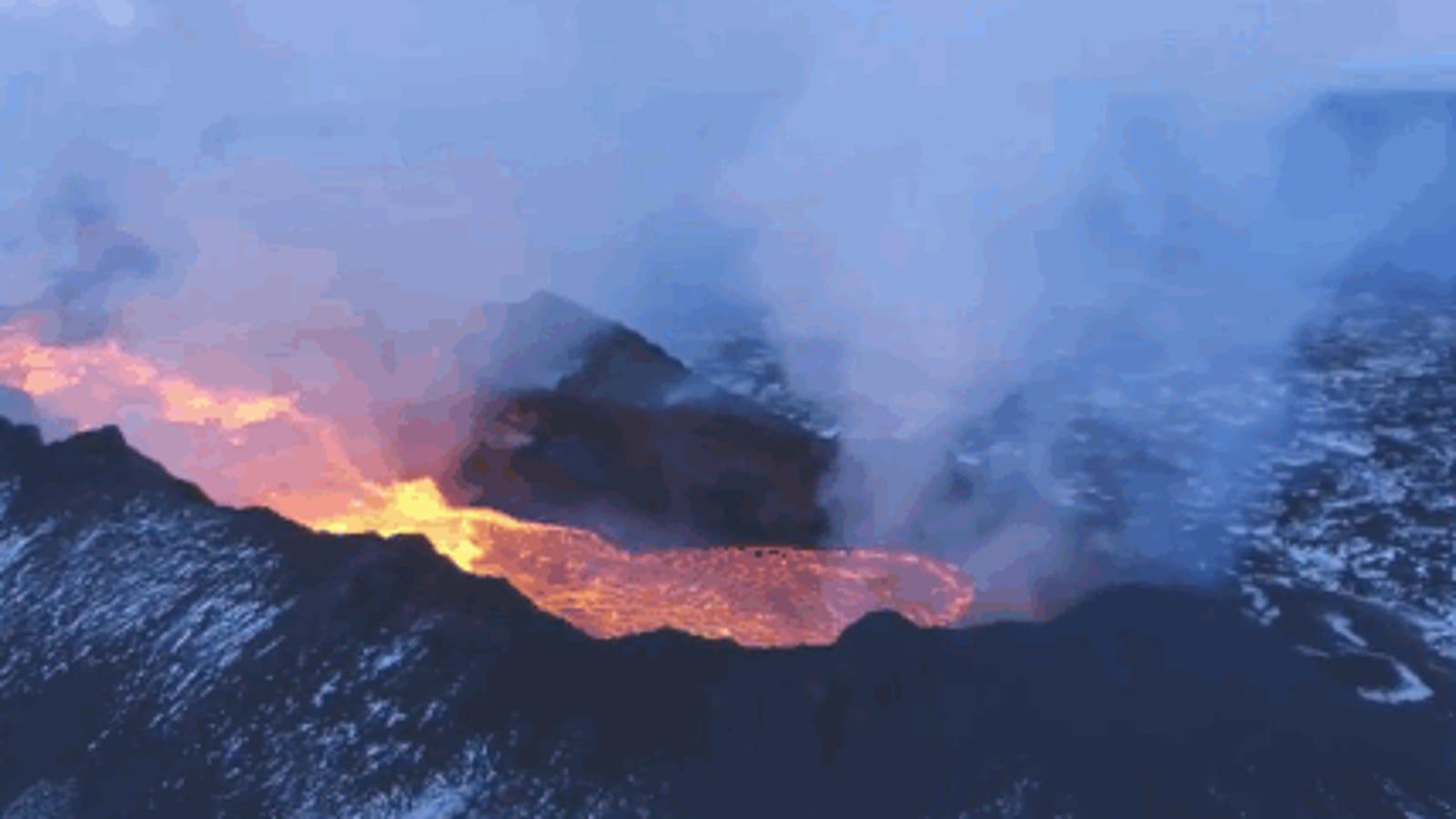 Graban en Islandia un gigantesco campo de lava más grande que Manhattan