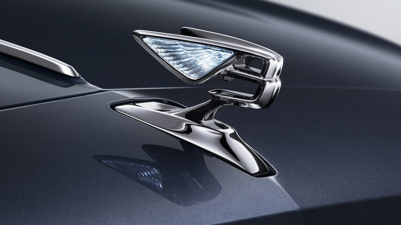 Behold Bentley's New Hood Ornament