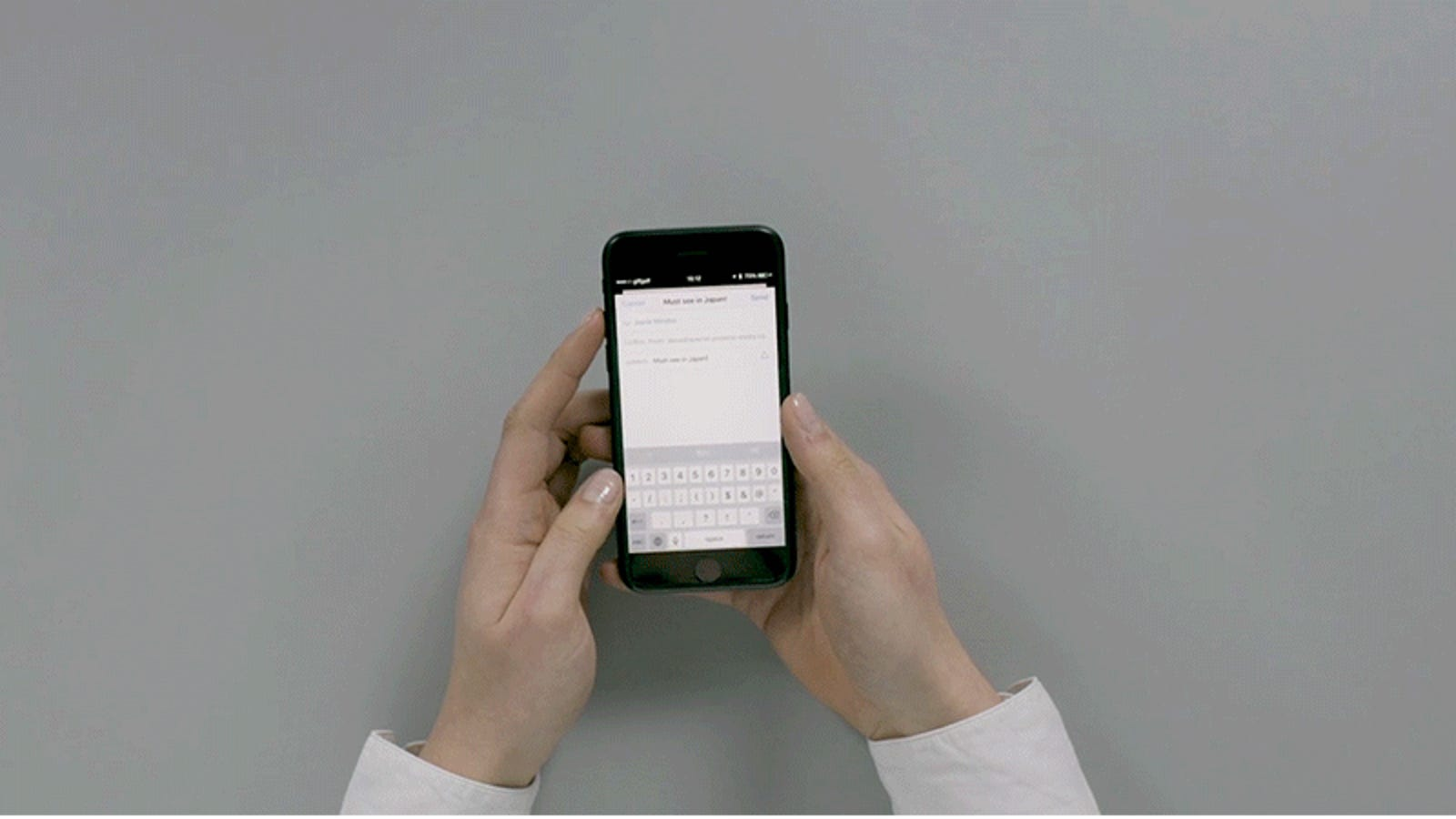 This Solution to Phone Multitasking Is Either Genius or Totally Absurd
