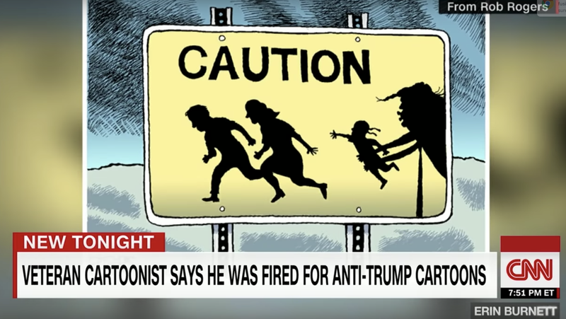 Illustration for article titled Pittsburgh Post-Gazette Fires Editorial Cartoonist Critical of Trump: Here's Why That Should Scare the Shit Out of You