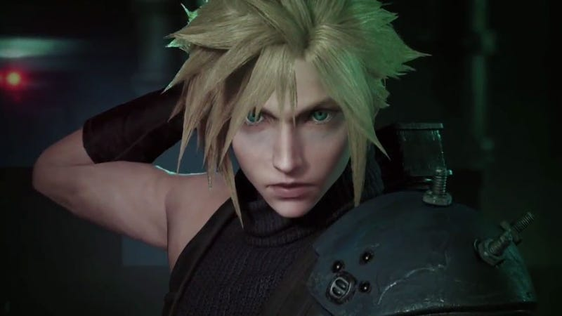 Illustration for article titled The Final Fantasy VII Remake Is Looking Hot