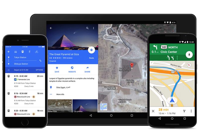 Illustration for article titled Google Maps estrena nueva apariencia con Material Design
