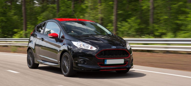 Illustration for article titled The Ford Fiesta Zetec S Has More Power Per Liter Than A Bugatti Veyron