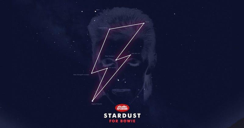 Illustration for article titled El mejor tributo a David Bowie: una constelación de estrellas con su nombre [Actualización]
