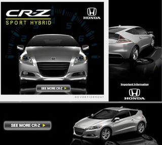 Illustration for article titled Honda CR-Z Sport Hybrid: Finally, An Exciting Hybrid!
