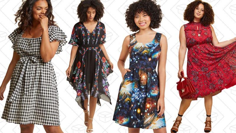 BOGO 50% off sale dresses at ModCloth