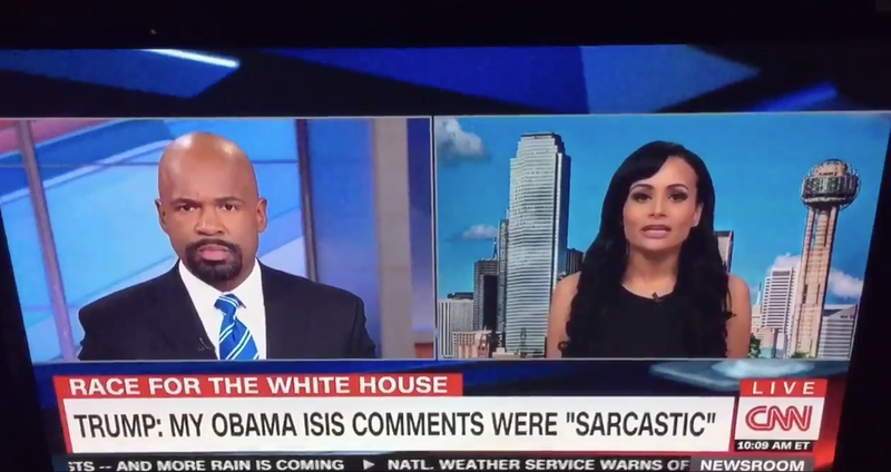 Katrina Pierson Obama War Comment is Yet Another Gaffe by Trump's Spokesperson