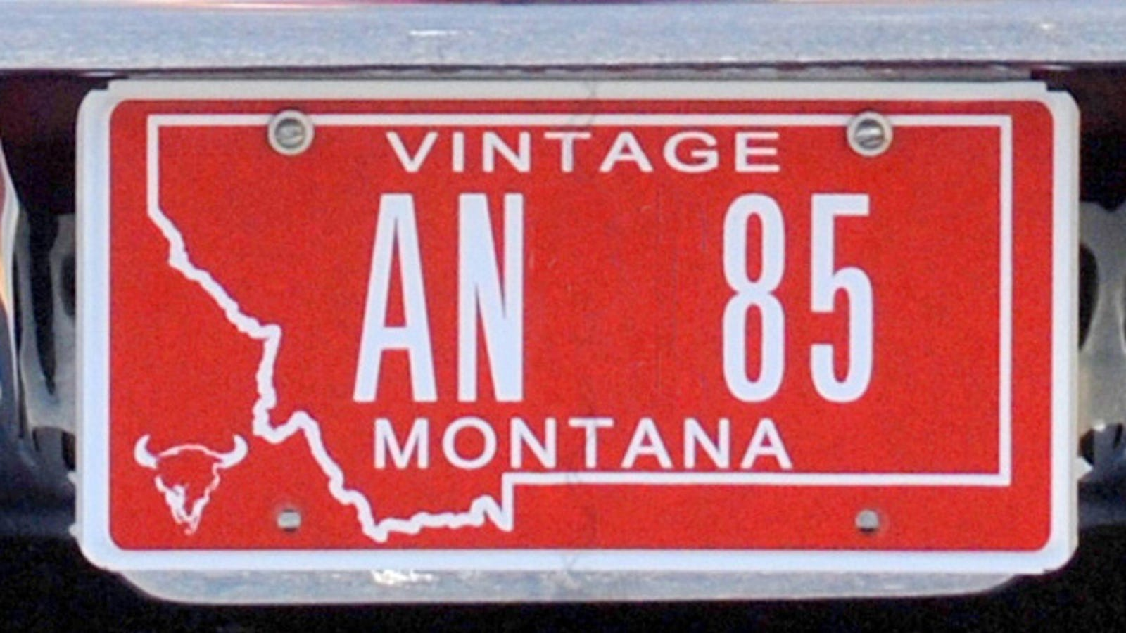 The Pitfalls Of The Montana License Plate Scam