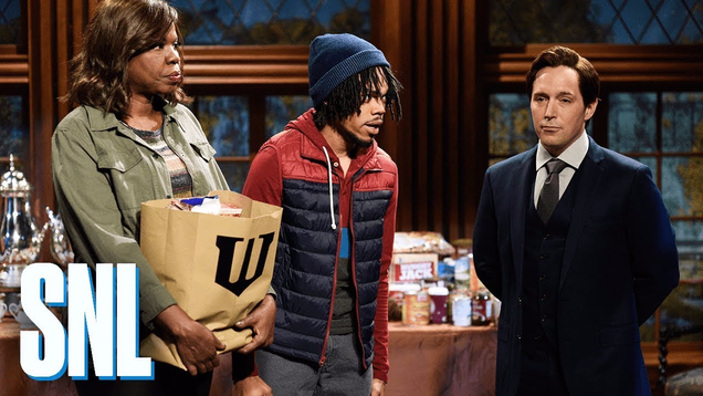 In This Saturday Night Live Clip, Batman Might Be A Little Too Tough on Crime
