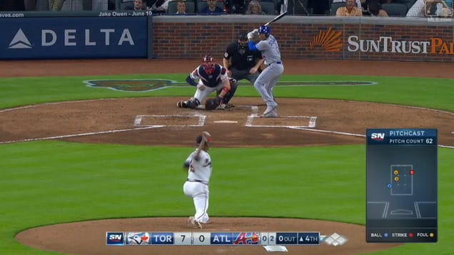 Blue Jays Pitcher Marcus Stroman Hit His First Dong