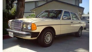 Cheap Slow Awesome The Mercedes Benz W123 240d