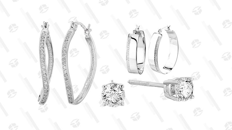 Diamond Jewelry Gold Box | Amazon