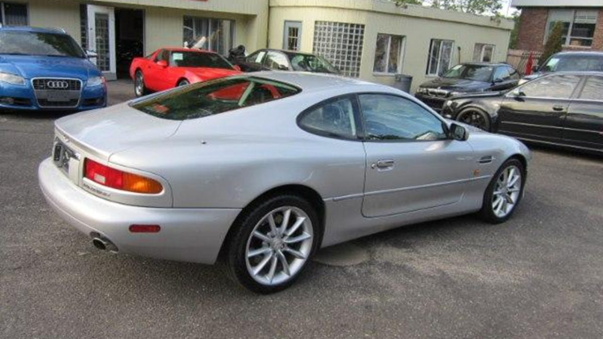 for $27,995 could this 2002 aston martin db7 vantage be the best