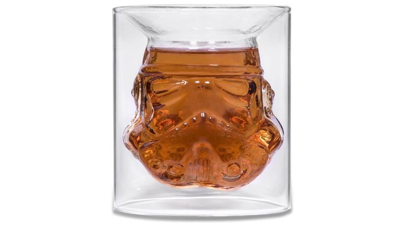 Illustration for article titled Movie-Authentic Star Wars Helmets Were Used to Make These Stormtrooper Shot Glasses