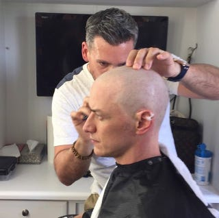 Illustration for article titled If You're Going To Play Professor X, You've Gotta Have The Right 'Do
