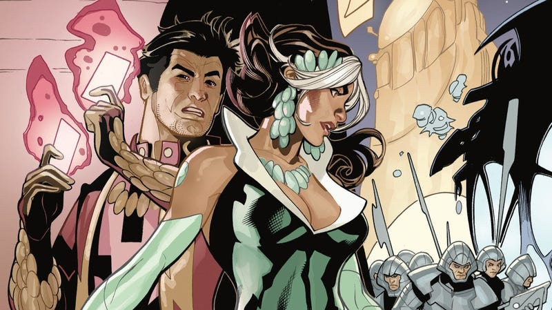 Illustration for article titled Mr. & Mrs. X escape their alien captors in this exclusive preview