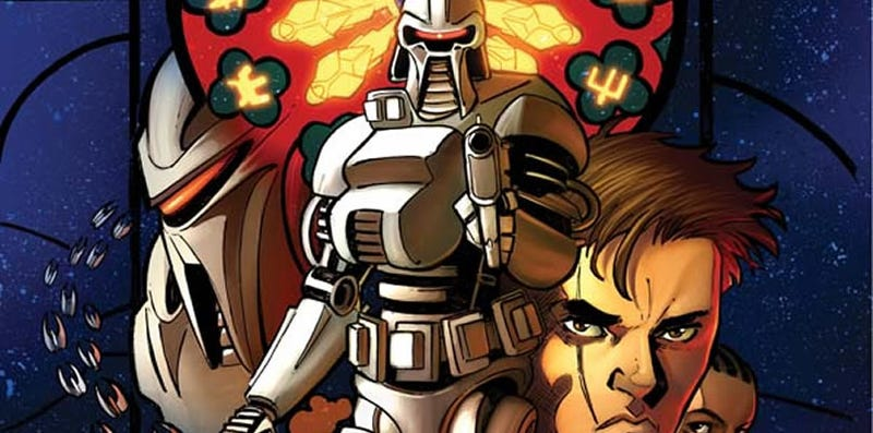Illustration for article titled Cylons Declare War On This Week's Comics