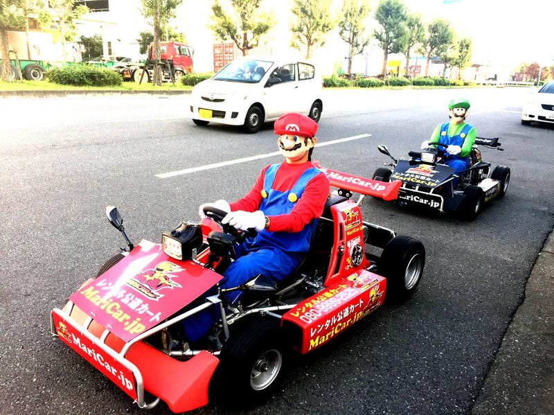 Go Kart Service : Nintendo is suing go karting company over copyright
