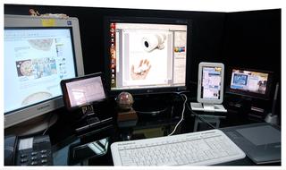 Illustration for article titled Mimo 7-Inch USB Displays Make Your Desktop Look Like a Battleoid Cockpit