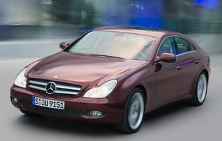 Illustration for article titled 2009 Mercedes-Benz CLS With New Photos