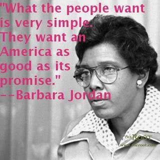 Rep. Barbara Jordan of Texas (U.S. Library of Congress)