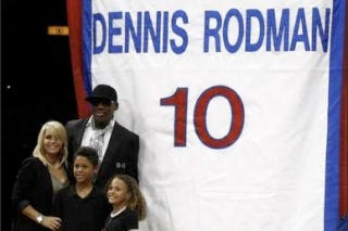 Illustration for article titled Dennis Rodman Recognizes The Importance Of Family