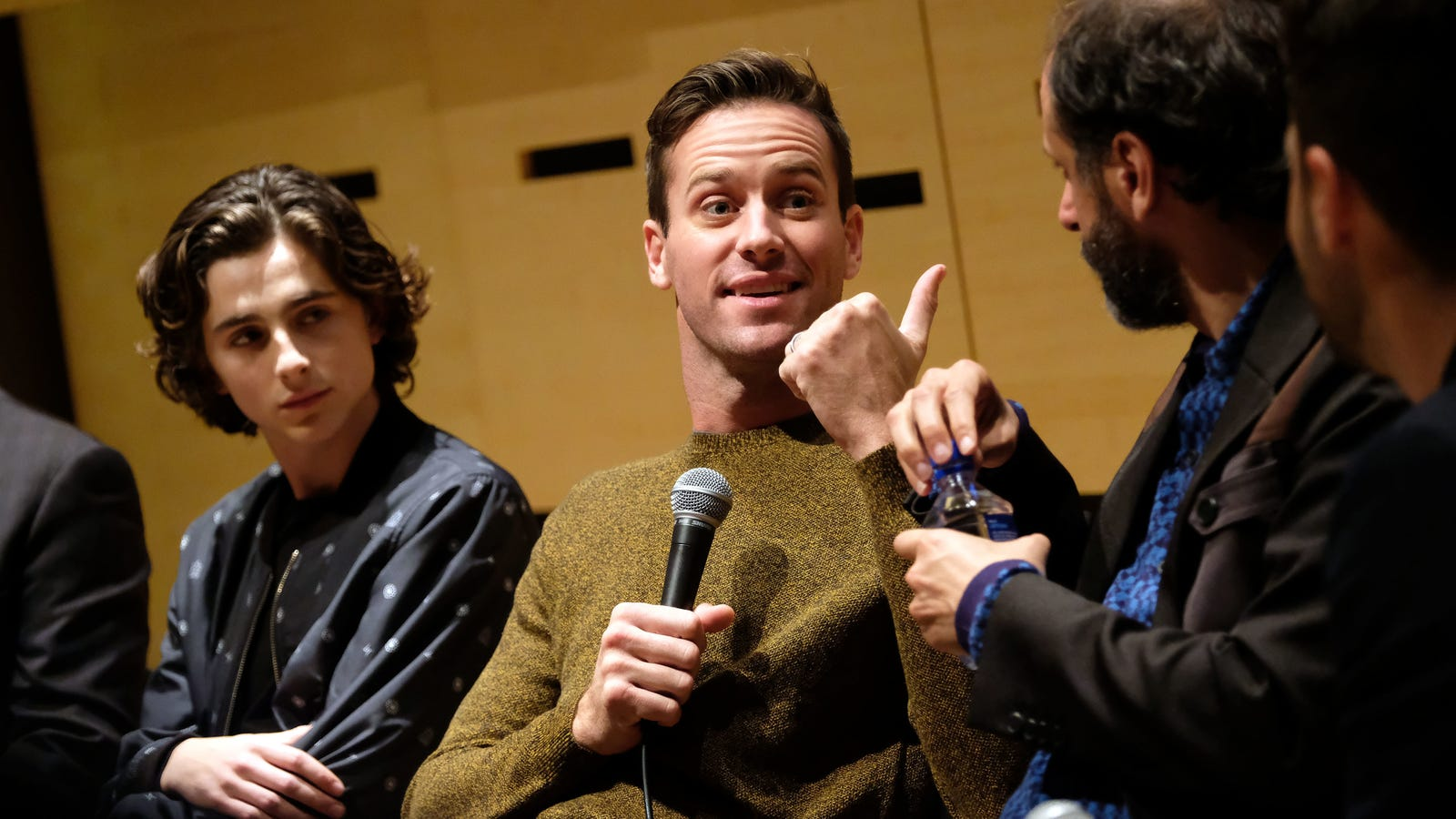 Armie Hammers Balls Were Too Big for His Call Me By Your