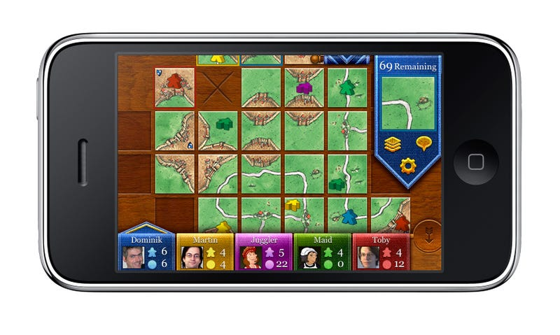 Illustration for article titled Calling All Board Game Nerds: Get Carcassonne for the iPhone