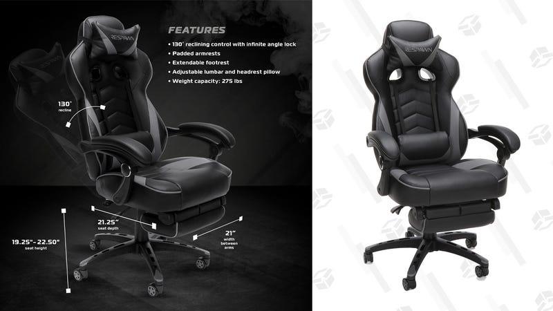 RESPAWN-110 Racing Style Gaming Chair (Black) | $99 | Walmart