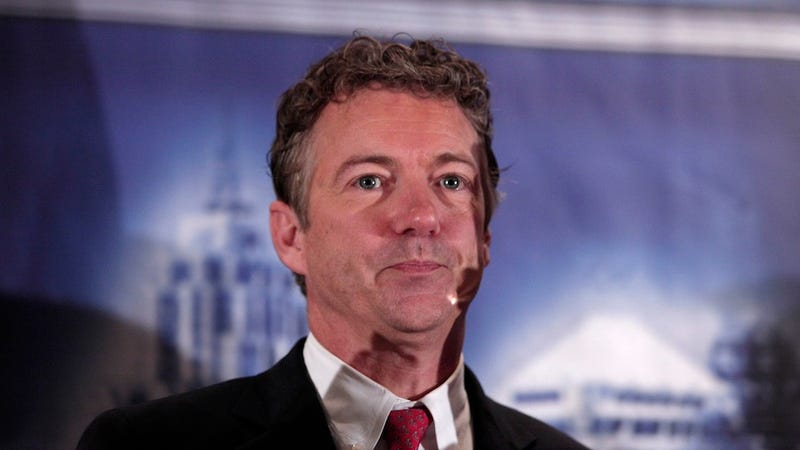 Illustration for article titled Rand Paul Thinks Unmarried Poor Women Should Just Stop Having Sex