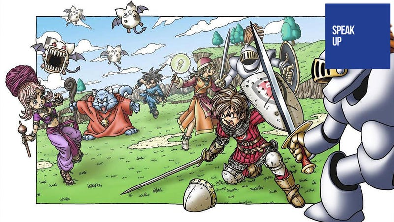 Illustration for article titled Stop Dragging Dragon Quest Around, Square Enix