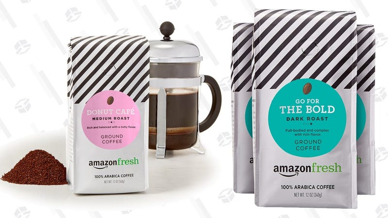 $3 off 3-Pack 12 Ounce AmazonFresh Ground Coffee | Amazon | Must use Subscribe & Save and clip the $3 coupon