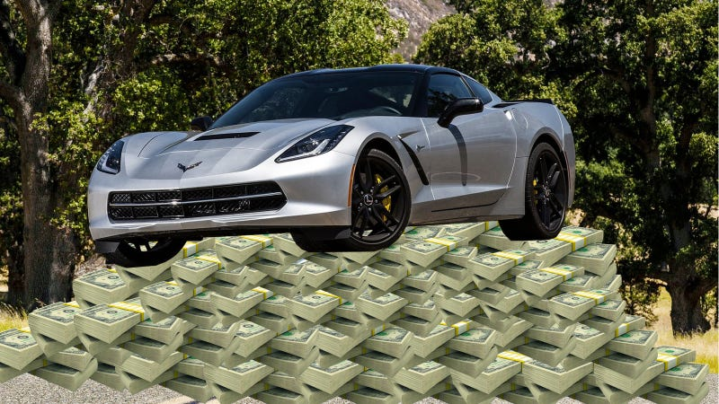 Illustration for article titled One Dealer Wants You To Pay $100,000 For A 2014 Corvette