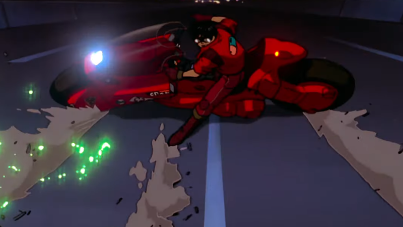 Get ready to see the most famous bike slide in anime, in glorious 4K.