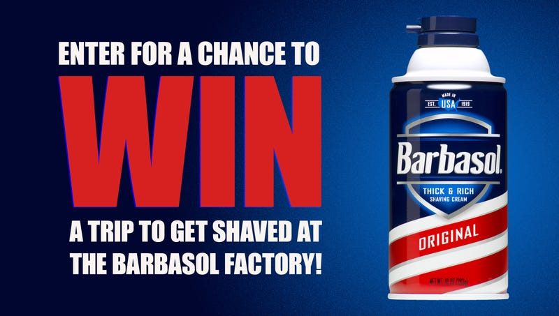 Illustration for article titled Chance Of A Lifetime: Millions Of Children Are Buying Barbasol In Bulk After Barbasol Announced 5 Lucky Children Will Win A Trip To Get Shaved At Their Factory