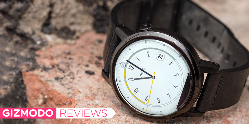 Illustration for article titled The Moto 360 (2015) Review: Putting the Watch Back in Smartwatch