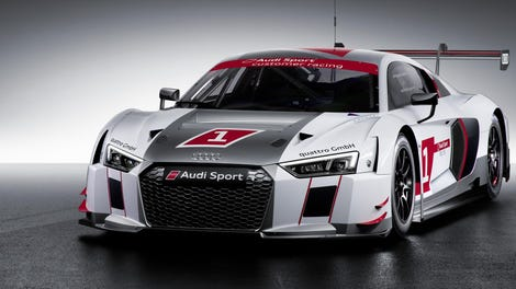 This Is The Audi R8 LMS, Audiu0027s New Safety Focused GT3 Race Car