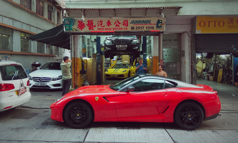 Photo credit: Michael Tracy (@Carsofhongkong on Instagram)