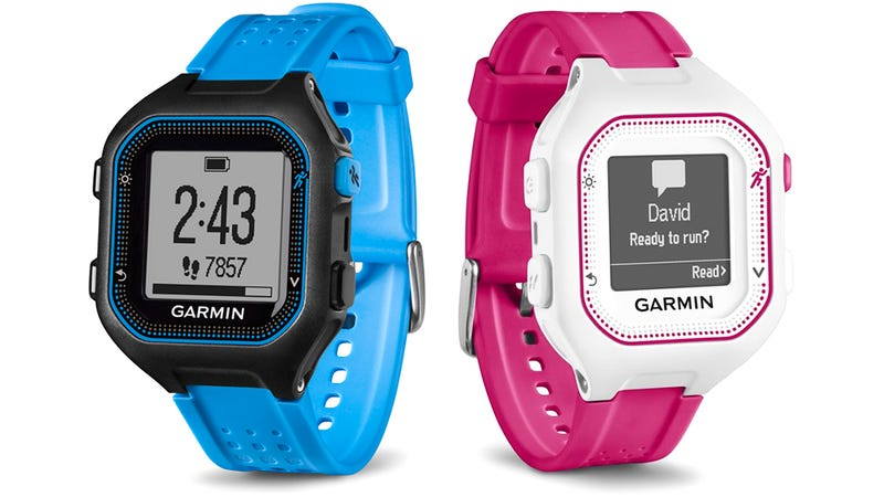 Illustration for article titled Garmin's New GPS Watch Looks Like a Classic Digital Casio